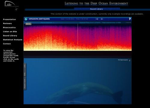 Listening to the Deep Ocean Environment