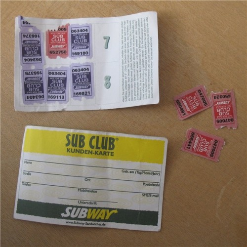 subway stamps