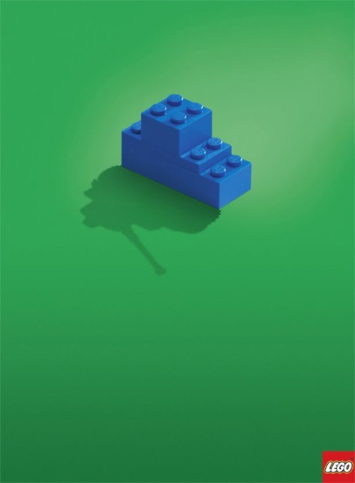 LEGO print ads ads