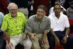 Warren Buffett, Bill Gates and Ludacris.