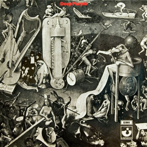 1969 Deep Purple album art