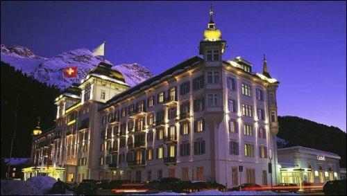 The Grand Hotel Kempinski in St. Moritz, location of the 2011 Bilderberg meeting