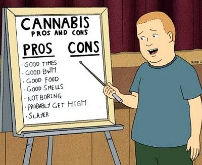 cannabis cartoon
