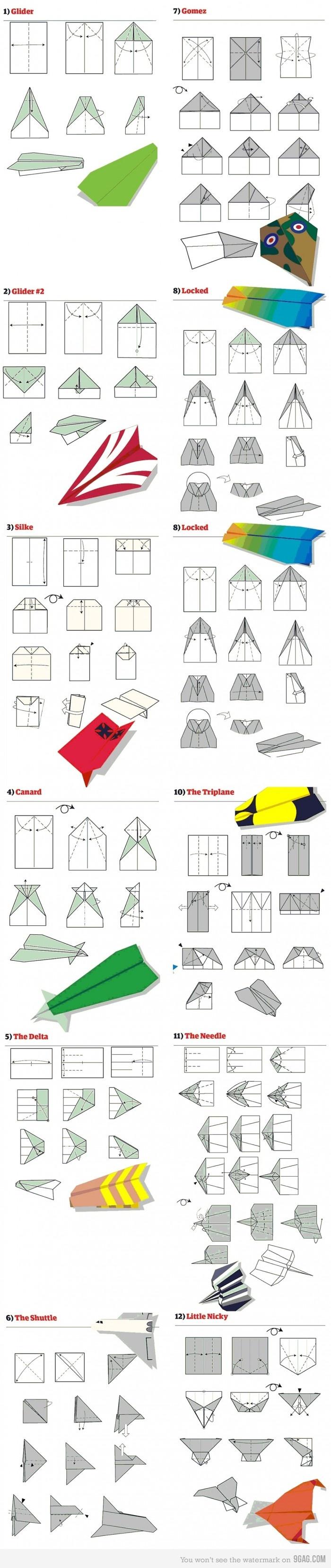 Смотреть как сделать крутой самолет из бумаги