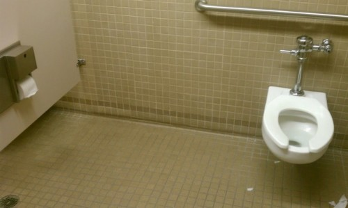 Stretch Armstrong's toilet