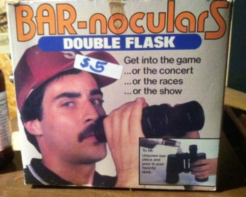 bar-nouculars flask