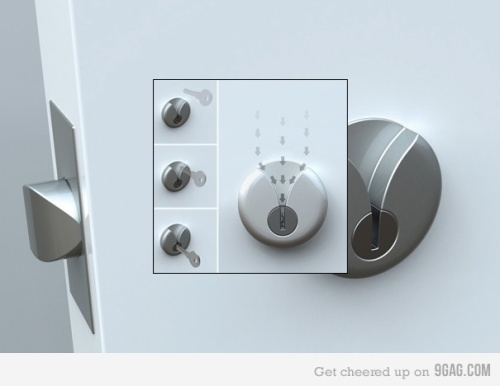 Genius Key and Lock design
