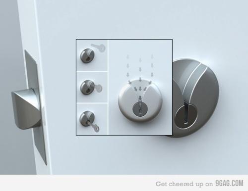 Genius Key and Lock design