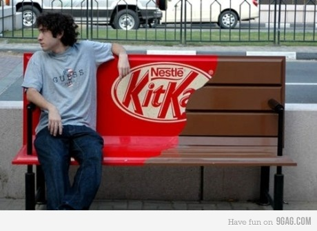 Cool ad for KIT KAT