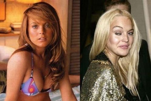 Lindsey Lohan posing nude for Playboy