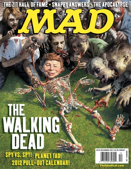 The Walking Dead Meets Mad Magazine