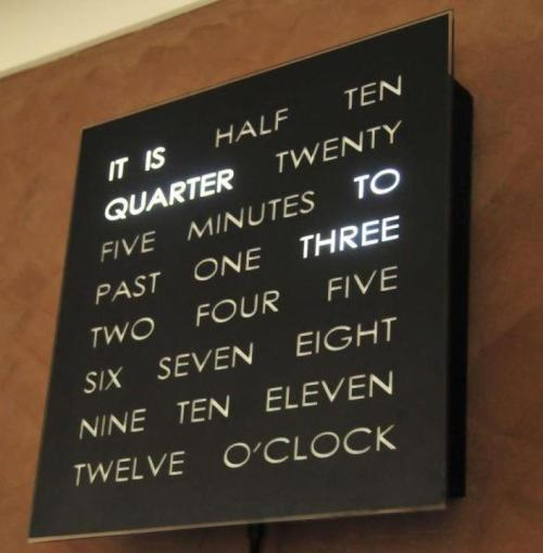 Cool clock design