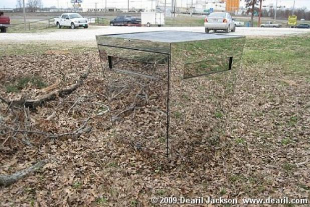 Cool deer stands duck duck gray duck for Deer ground blind plans