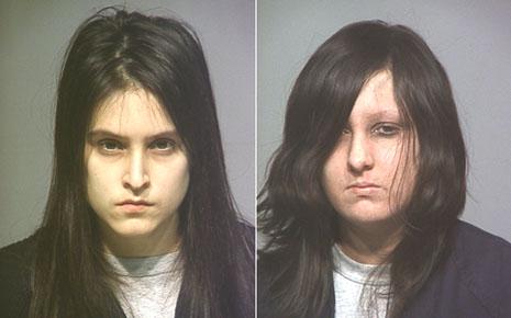 "The women -- Rebecca Chandler and Raven ""Scarlett"" Larrabee"