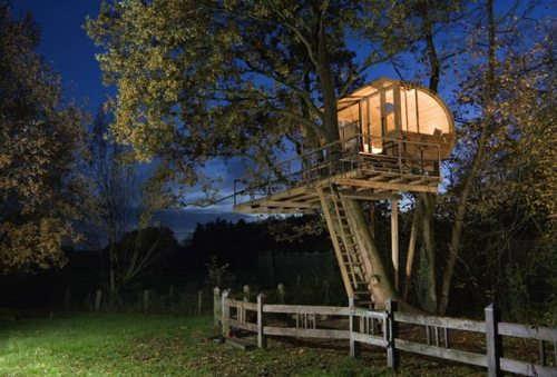 Euro Design Custom Treehouses by Baumraum
