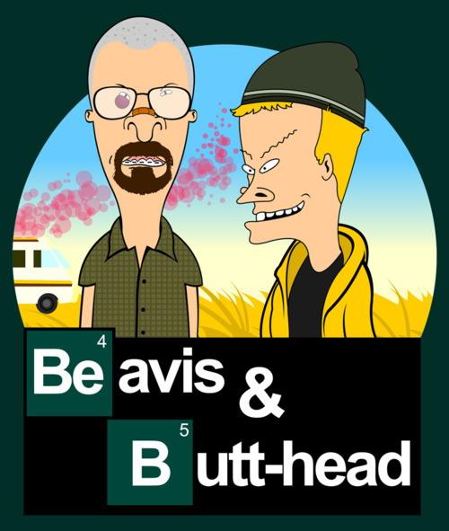 Breaking Bad meets Beavis and Butt-Head