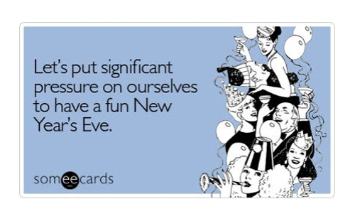 new years eve card - funny