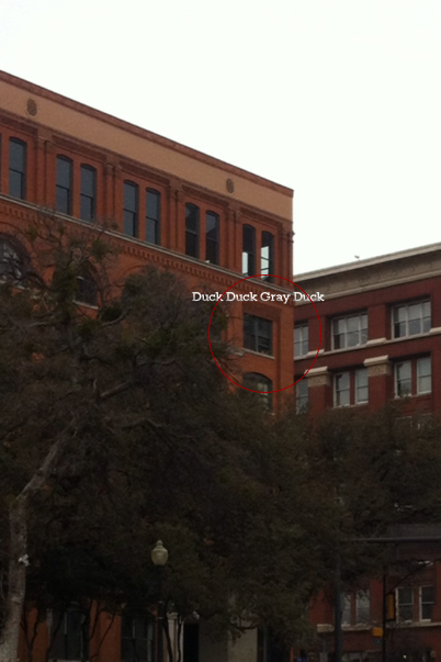 Ghost of Lee Harvey Oswald? 6th Floor Book Depository Building - Dallas, TX - January 8, 2012