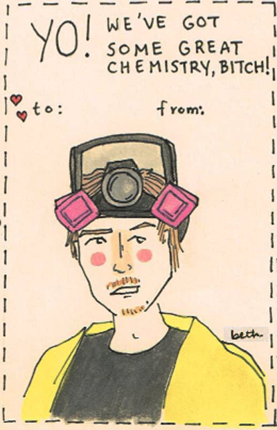 """Breaking Bad"" Valentine's Day Cards"