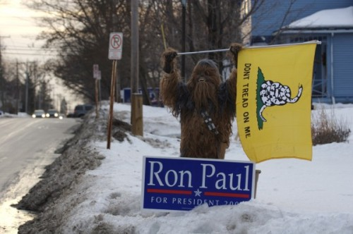 photo Wookies for Ron Paul