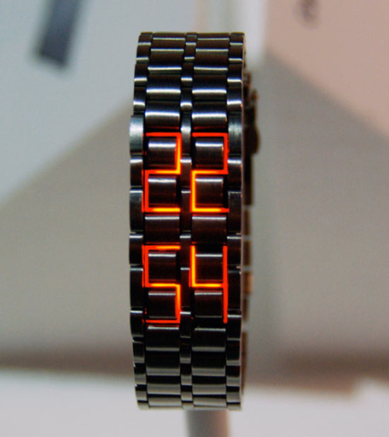 Tsuboi LED watch