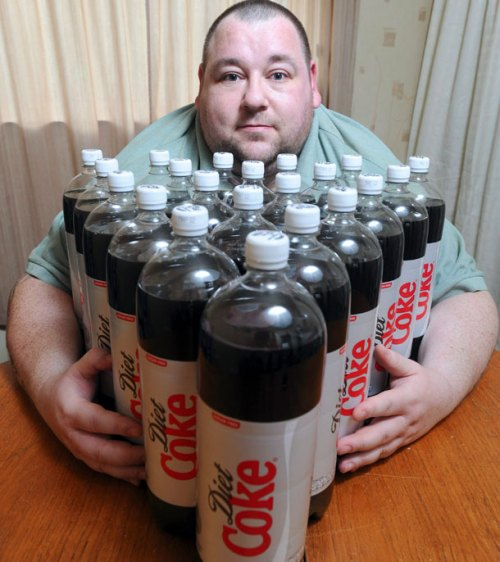Diet Coke habit