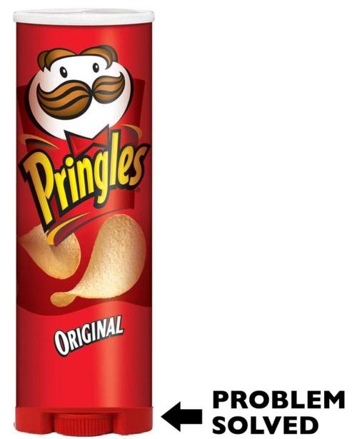 Pringles problem solved