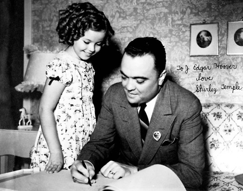 J. Edgar Hoover gave Shirley Temple a fountain pen that emitted tear gas