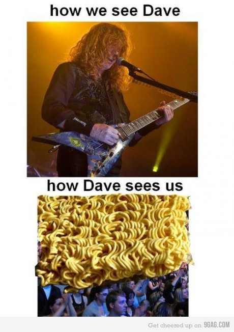 How Dave Mustaine sees us