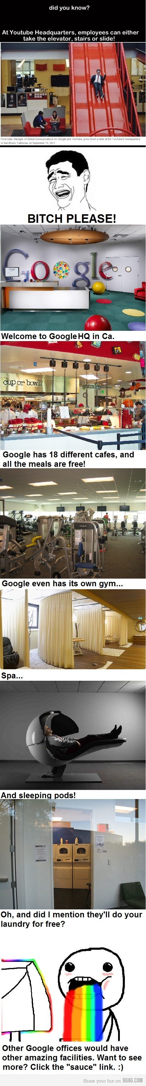 Inside the Google HQ