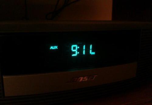 9-11 clock