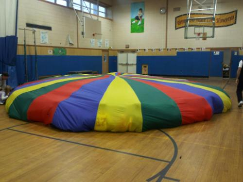 When the gym teacher broke this out, all the kids came unglued.
