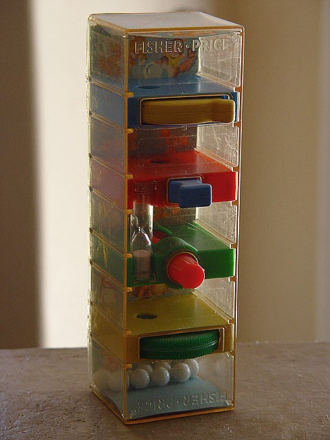Retro Fisher Price toy