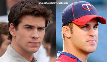 Gale from Hunger Games is basically Joe Mauer