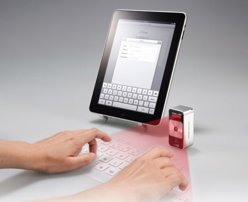 The Celluon Virtual Keyboard
