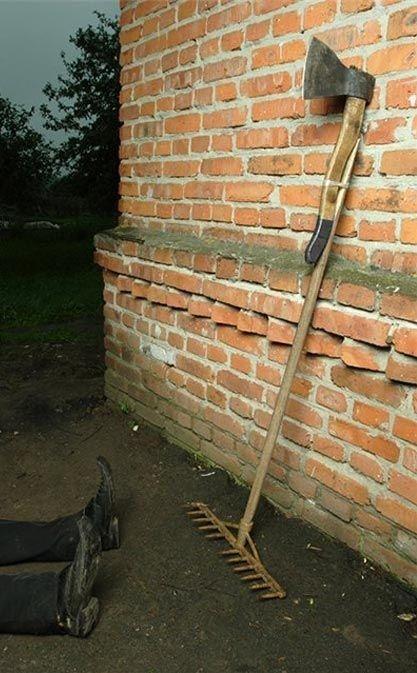 rake and ax