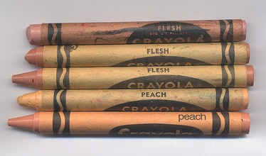 Crayola flesh crayon
