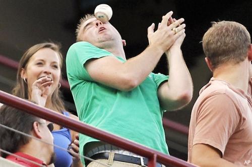 Strange but True Baseball Injuries