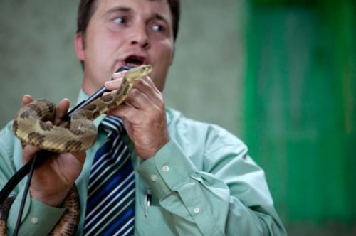 Snake handling_ A fading tradition
