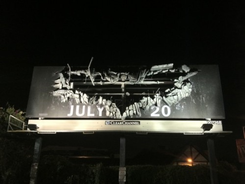 A cool billboard for The Dark Knight Rises