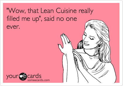 Lean Cuisine reality