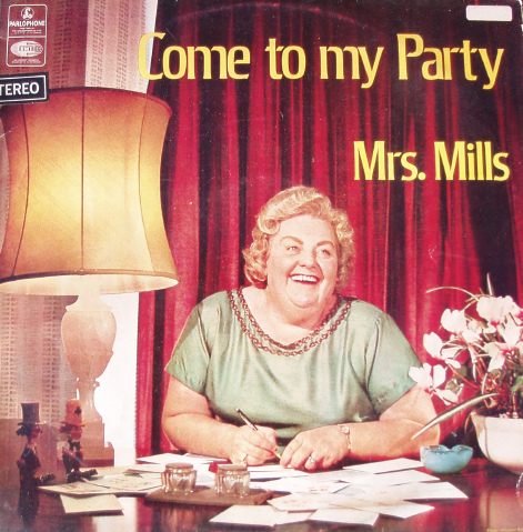 Mrs. Mills has a request.