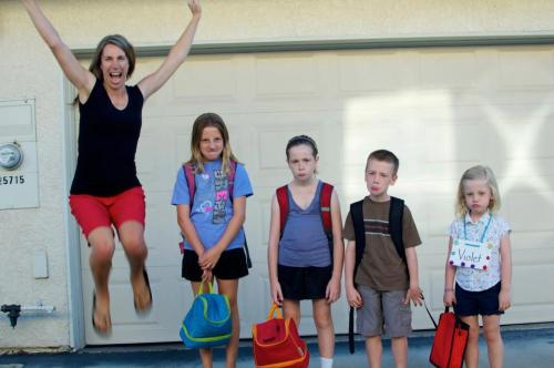 Awesome back-to-school photo
