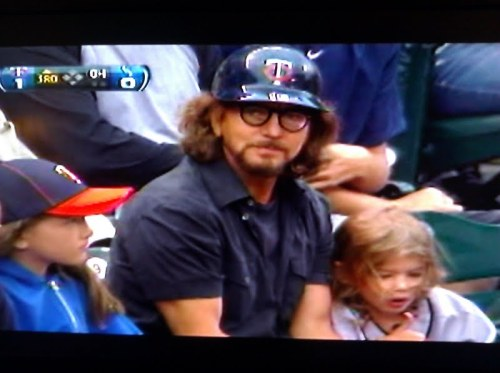 Eddie Vedder a Twins Fan
