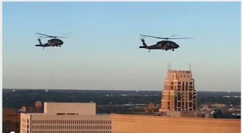 Black helicopters in Minneapolis