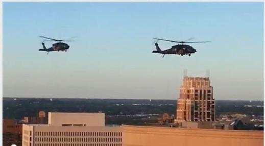 ¿¿ PORQUÉ HAY TANTO MOVIMIENTO DE CONVOYES MILITARES EN EEUU .?? Helicopter-training
