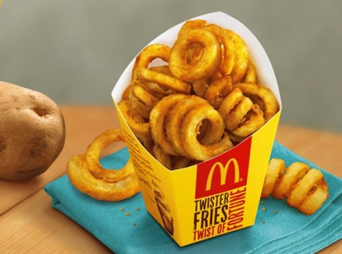 McDonald's Curly Fries