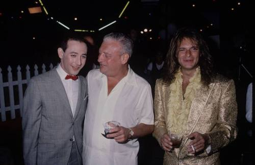 pee wee, dangerfield, and david lee roth