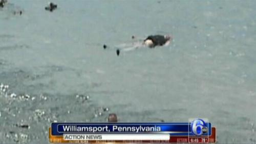 'Dead' man in river was just taking a nap