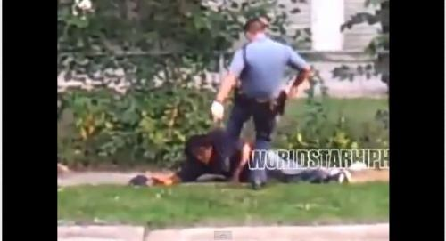 Video shows St. Paul cop kicking man in the throat
